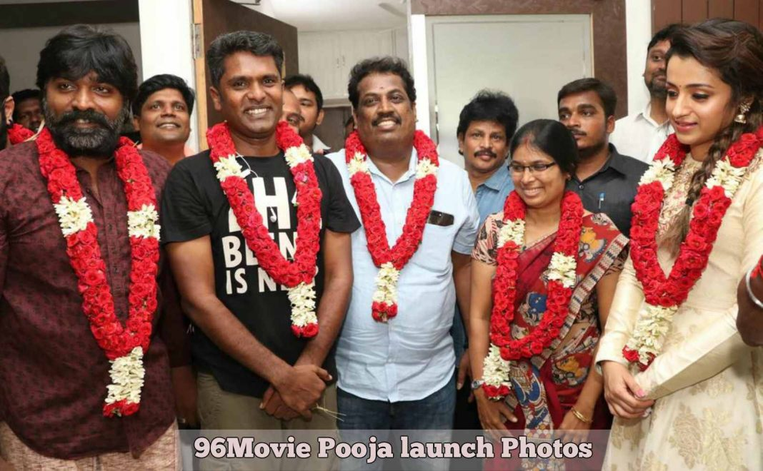 96Movie Pooja launch Photos