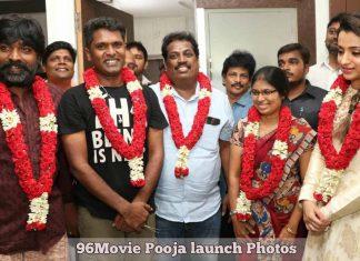 96Movie Pooja launch Photos
