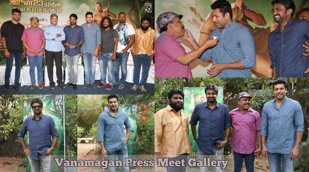 Vanamagan Press Meet Gallery