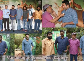 Vanamagan Press Meet Gallery