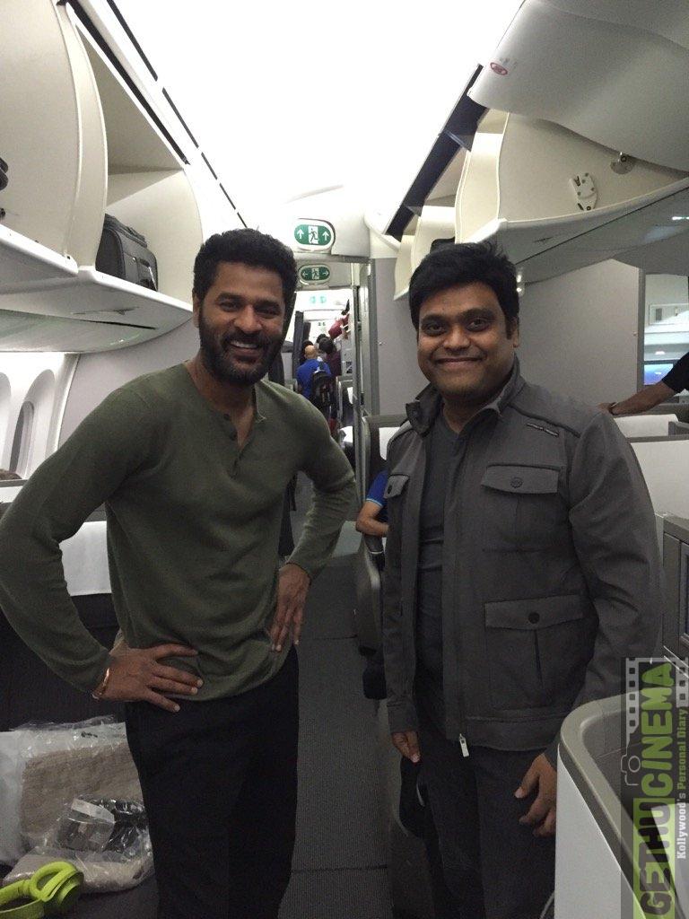 Prabhu Deva and Harris Jeyaraj