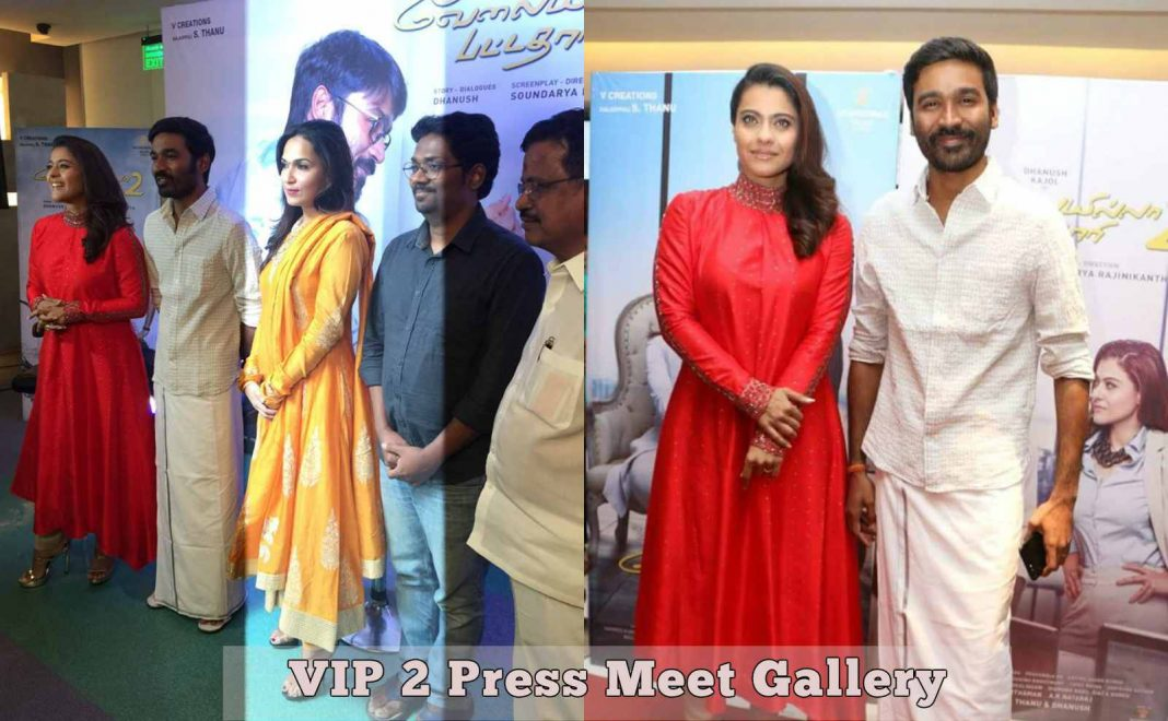 Velai Illa Pattadhaari 2 aka VIP 2 Press Meet Gallery