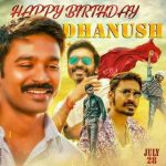 Dhanush 2017 Fan Made Birthday Design (4)