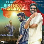 Dhanush 2017 Fan Made Birthday Design (7)