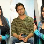Arjun And Megha Akash at Lie Movie Event (1)