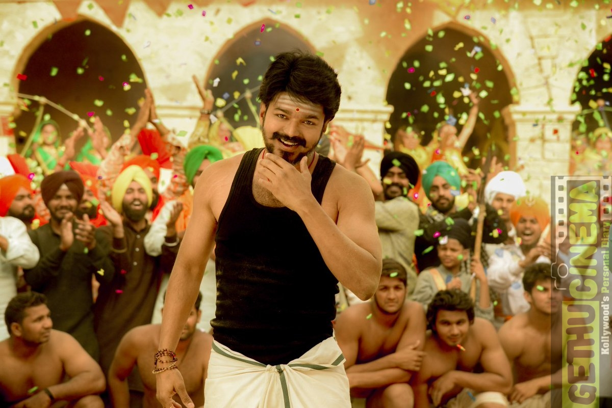 Mersal Tamil Movie Hd Stills Vijay Samantha Nithya