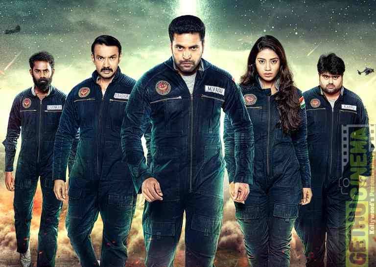 Tik Tik Tik Movie Second Look Poster | Jayam Ravi, Nivetha Pethuraj
