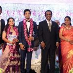 Vishal sister Aishwarya's Wedding Reception photos Gallery (1)
