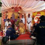 Vishal sister Aishwarya's Wedding Reception photos Gallery (10)