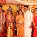 Vishal sister Aishwarya's Wedding Reception photos Gallery (12)