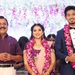 Vishal sister Aishwarya's Wedding Reception photos Gallery (14)
