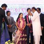 Vishal sister Aishwarya's Wedding Reception photos Gallery (15)