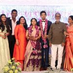 Vishal sister Aishwarya's Wedding Reception photos Gallery (16)