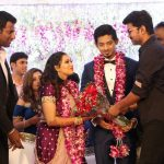 Vishal sister Aishwarya's Wedding Reception photos Gallery (18)