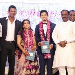 Vishal sister Aishwarya's Wedding Reception photos Gallery (3)