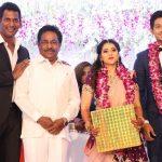 Vishal sister Aishwarya's Wedding Reception photos Gallery (4)