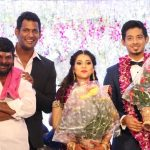 Vishal sister Aishwarya's Wedding Reception photos Gallery (5)
