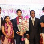 Vishal sister Aishwarya's Wedding Reception photos Gallery (6)