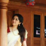 Actress Aavaana  new malaiyala Saree Look (3)