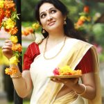 Actress Aavaana  new malaiyala Saree Look (4)
