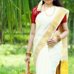 Actress Aavaana  new malaiyala Saree Look (7)