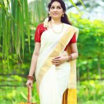 Actress Aavaana  new malaiyala Saree Look (8)