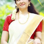 Actress Aavaana  new malaiyala Saree Look (9)