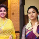 Keerthi Suresh 2017 saree Pictures (1)