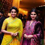 Keerthi Suresh 2017 saree Pictures (10)