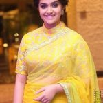 Keerthi Suresh 2017 saree Pictures (11)