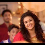 Keerthi Suresh 2017 saree Pictures (12)