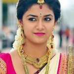 Keerthi Suresh 2017 saree Pictures (15)