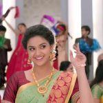Keerthi Suresh 2017 saree Pictures (17)