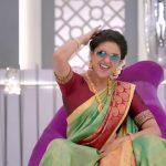 Keerthi Suresh 2017 saree Pictures (18)