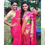 Keerthi Suresh 2017 saree Pictures (2)