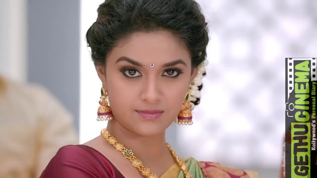 actress keerthy suresh saree hd photos collection gethu cinema