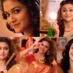 Keerthy Suresh chennai Silks diwali Ad (1)