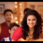 Keerthy Suresh chennai Silks diwali Ad (10)