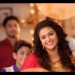 Keerthy Suresh chennai Silks diwali Ad (11)
