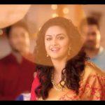 Keerthy Suresh chennai Silks diwali Ad (12)