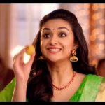 Keerthy Suresh chennai Silks diwali Ad (15)