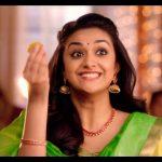 Keerthy Suresh chennai Silks diwali Ad (16)