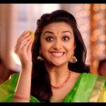 Keerthy Suresh chennai Silks diwali Ad (18)