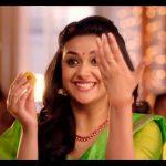 Keerthy Suresh chennai Silks diwali Ad (19)