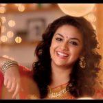 Keerthy Suresh chennai Silks diwali Ad (2)