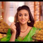 Keerthy Suresh chennai Silks diwali Ad (23)