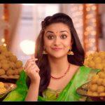 Keerthy Suresh chennai Silks diwali Ad (24)