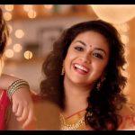Keerthy Suresh chennai Silks diwali Ad (3)