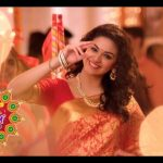 Keerthy Suresh chennai Silks diwali Ad (31)