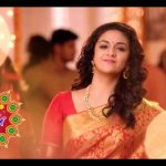 Keerthy Suresh chennai Silks diwali Ad (32)